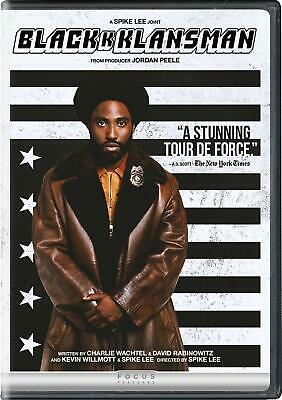 BLACKKKLANSMAN DVD (region 1 us import) USED, IN GOOD CONDITION.