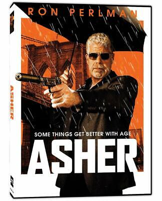 Asher 2019 DVD (region 1 us import) USED, IN GOOD CONDITION.