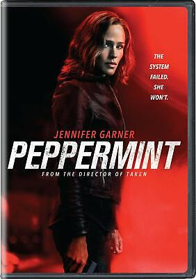 PEPPERMINT [DVD] (region 1 us import) USED, IN GOOD CONDITION.