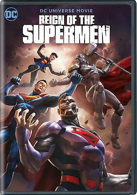 Reign Of The Superman DVD (region 1 us import) USED, IN GOOD CONDITION.