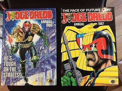 Judge Dredd Annuals x 2