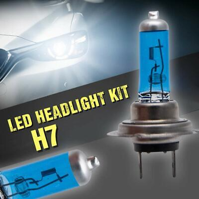 2 Aiguille H7 100W Super Blanc XENON 499 12V Feux Ampoules Phare LED sidelights