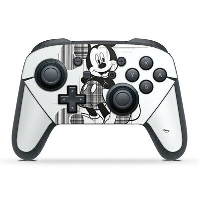 Nintendo Switch Pro Controller Folie Aufkleber Skin - Mickey Sketchy