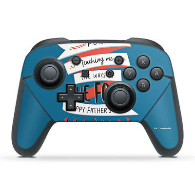 Nintendo Switch Pro Controller Folie Aufkleber Skin - Teaching the Force
