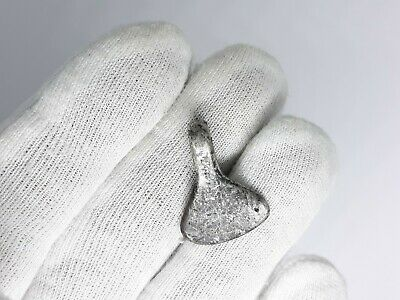 Ancient Viking Silver Axe,military Amulet Pendant 8-10 Ad