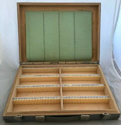 Lovely Vintage 35mm Photo Slide Storage Box, Large Size, Capacity 240 Slides
