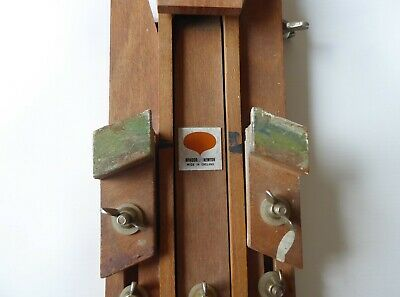 Vintage Winsor and Newton Adjustable Beech Artist Easel Made in England