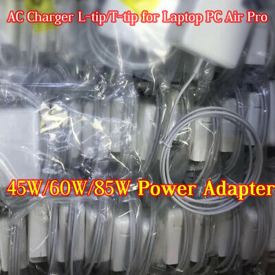 OEM Power AC Adapter Charger for Macbook 1/2 L-Tip,T-Tip 45W 60W 85W caharger