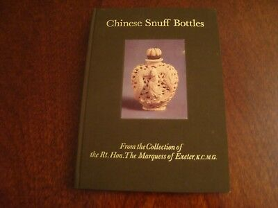 Chinese Snuff Bottles from the collection of The Marquess of Exeter 1974  18/133