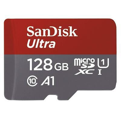 Sandisk Ultra 128GB Micro SD SDXC Memory Card + Adapter Free Class 10 100MB/S