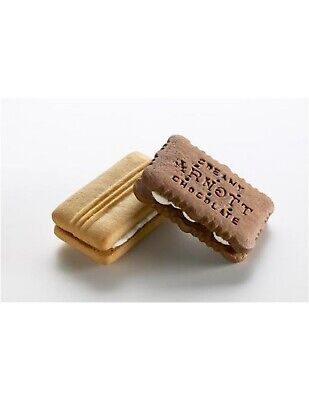 Arnotts Biscuits Creamy Chocolate And Shortbread Cream Portions 150s
