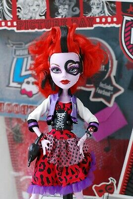 Monster High Picture Day Operetta  with box