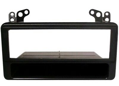 FP-11-02 TOYOTA AVENSIS 2001-2004 BLACK SINGLE DIN FASCIA FACIA FITTING KIT