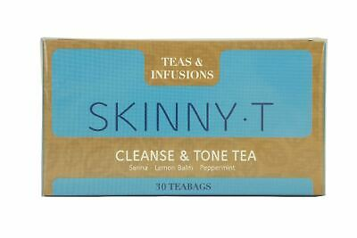 Teas & Infusions SkinnyT Cleanse & Tone Tea - 30 Teabags -Senna Lemon Peppermint