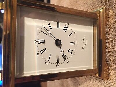 Bonand Freres Bicester Carriage Clock Excellent Condition Serviced Sep 18