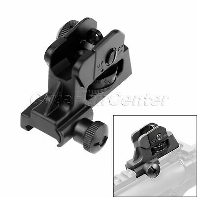 A2 Type Rear Post Adjustable Sight Picatinny Rail for all 223/5.56 flattop Rifle