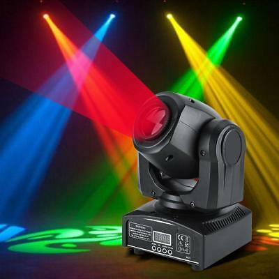 Proiettore Led Rgb Testa Mobile Rotante Effetti Discoteca Party 30W Led Dmx512