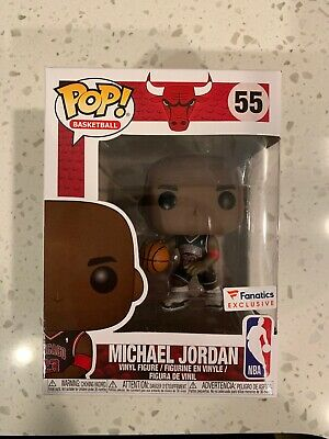 Funko POP NBA  Chicago Bulls Michael Jordan Fanatics Exclusive #55 CONFIRMED