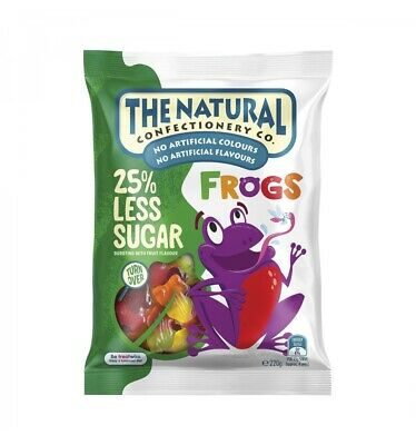 The Natural Confectionary Frogs 220g x 18