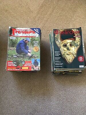 The Searcher & Metal Detecting Magazine Collection 1980s Onwards, 100+ Job Lot