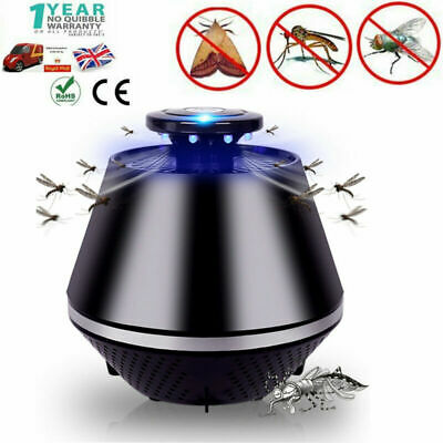 Electronic Led Light Mosquito Insect Killer Trap Lamp Pest Fly Bug Zapper Indoor