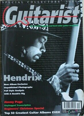Guitarist magazine - December 1994 - Hendrix