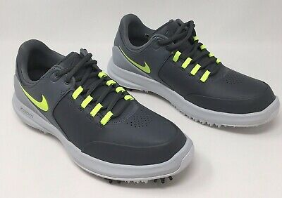 0a8bd706c0955 NEW MENS NIKE Air Zoom Accurate Golf Shoes Dark Grey 909724 001 Wide ...