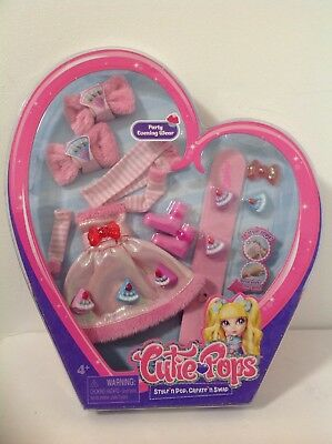 Cutie Pops Outfit Party Evening Wear & Accessories Pack NIP Doll Clothes Age 4+