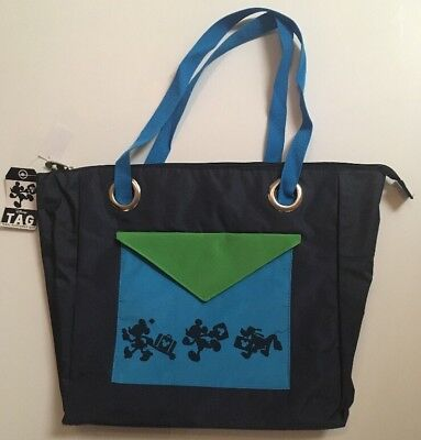 Disney Parks TAG Travel Tote Hidden Mickey Mouse Tote Bag