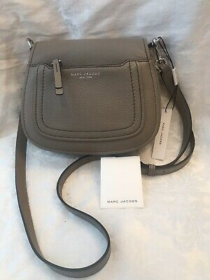 2acf9a4ae99e MARC JACOBS SMALL Leather Nomad Recruit Crossbody NWT Mink -  95.00 ...