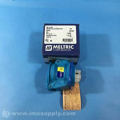 Meltric 63-14167 Pin And Sleeve Receptacles, Dsn20 Series  Fnob