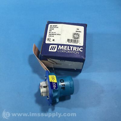 Meltric 63-18167 Meltric Pin and Sleeve Receptacles, DSN20 Series FNOB