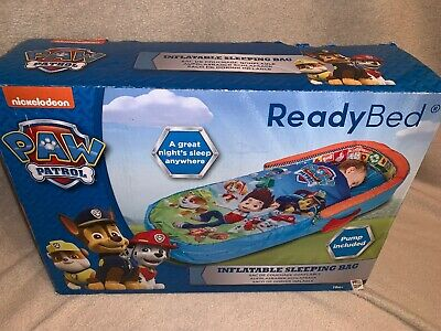ReadyBed Paw Patrol 401PAW Airbed and Sleeping Bag in One BASHED BOX