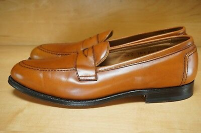 45cf81b78ac RARE ALDEN FOR Brooks Brothers Half Strap Loafer Sz 9 D!!! -  168.99 ...