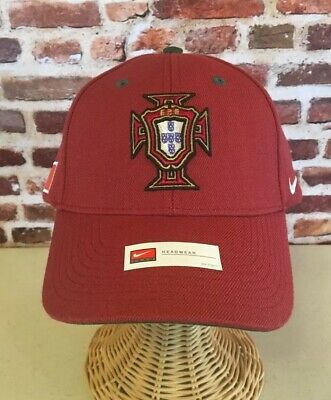 ba22d63bfdc NEW NIKE PORTUGAL SOCCER Hat Cap RARE National Team ONE SIZE World ...