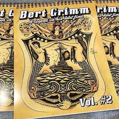 Bert Grimm A Legend In His Own Time # 2 - American Traditional Tattoo Flash Book