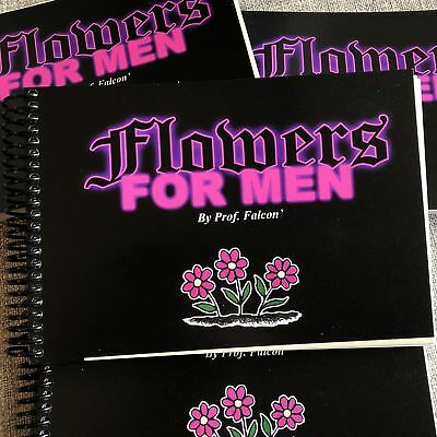 Prof. Falcon - Flowers For Men - American Traditional Tattoo Flash Book