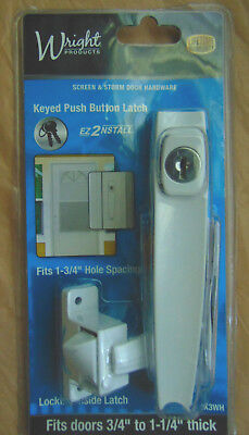 Keyed Push Button Latch by Wrignt Products
