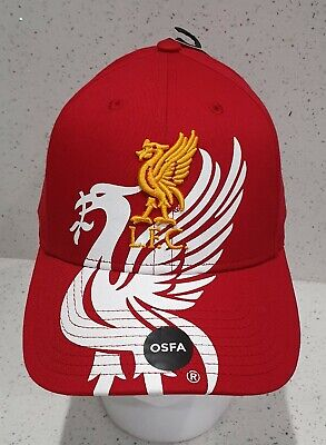 Official Liverpool FC Bird Red Baseball Cap - Brand 47