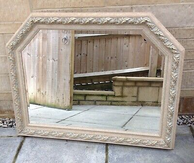 Extra Large Shabby Chic Decorative Ornate Wall Mirror ( Pick Up Only )