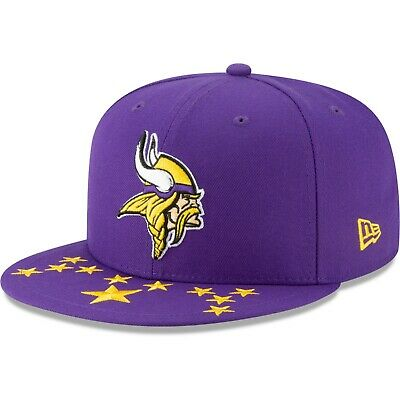 Minnesota Vikings New Era 2019 NFL Draft On Stage 59FIFTY Fitted Hat