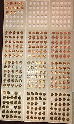 1909-1940 1941-1974 1975-2013 2014-2019 Almost complete Lincoln Penny Cent Set