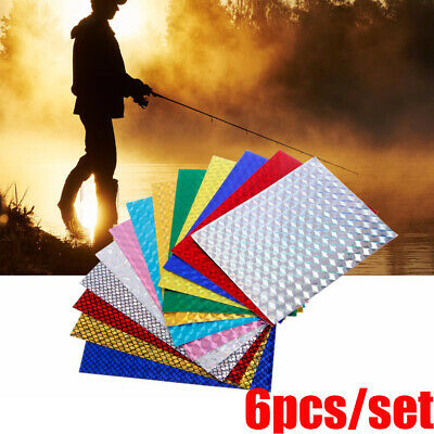 Flash Tape Holographic Adhesive Film Change Color Sticker Fly Tying Material