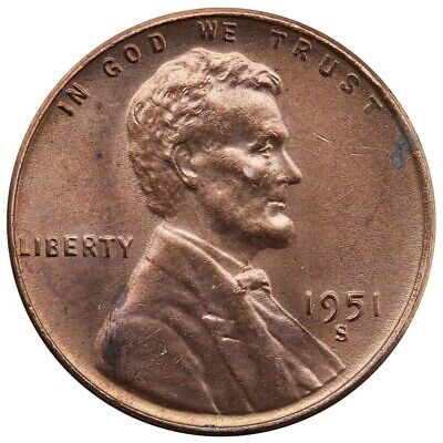 100 Wheat Lincoln Pennies all 1950s PDS