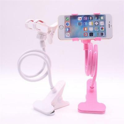 Flexible Long Arms Lazy Stand Clip Holder Phone Tablet iPad Desktop Bed WA