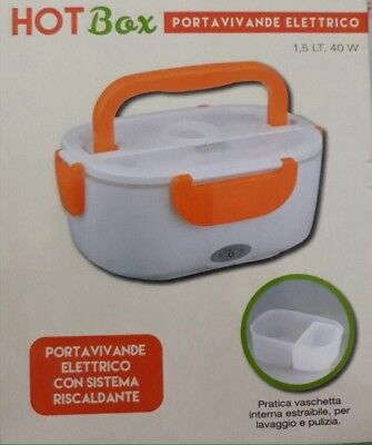 Scaldavivande Portavivande elettrico  Hotbox - Lunch box warmer