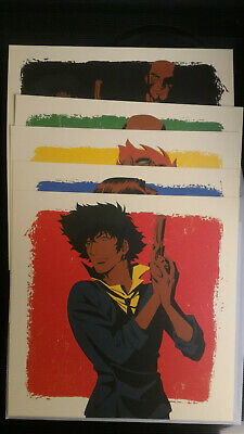 Cowboy Bebop Bounty Hunter's Steel Limited Edition Lithographs