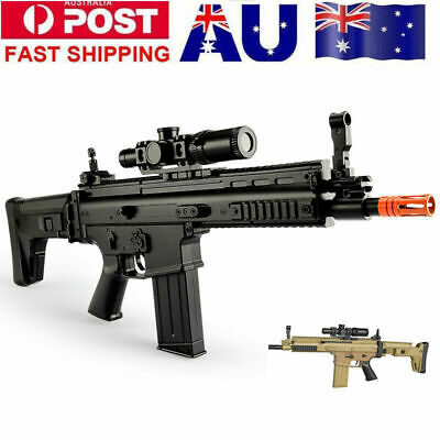 Gel Ball Blaster LeHui SCAR-L Mag-fed Water Bullets Dart Toy Gun Adult Size AU