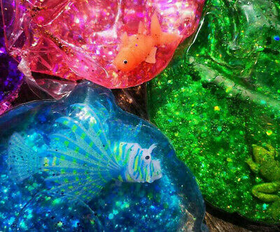 Sensory Squishy glitter ball Educational Toys Special Needs Autism Stress ADHD