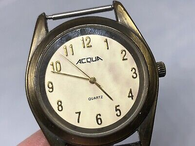 Vintage Antique Watch Acqua Parts Or Repair #9